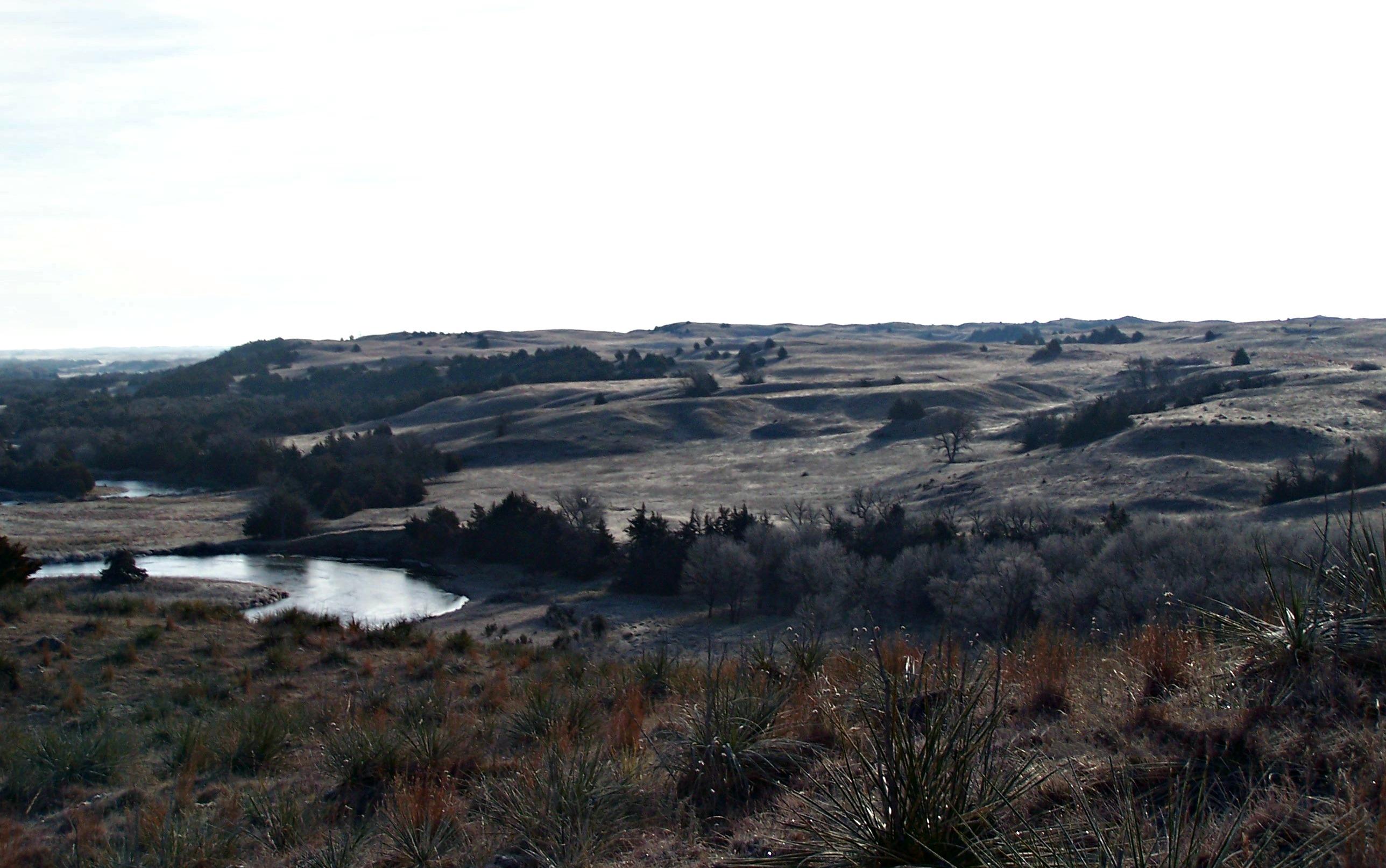 Smoke Poles In The Sand Hills Muzzleloader Hunting In Nebraska